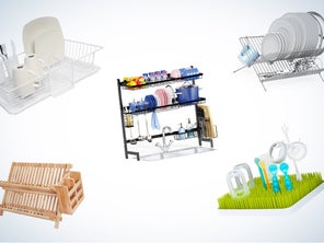 Best Dish Drying Racks to Keep Your Kitchen Tidy