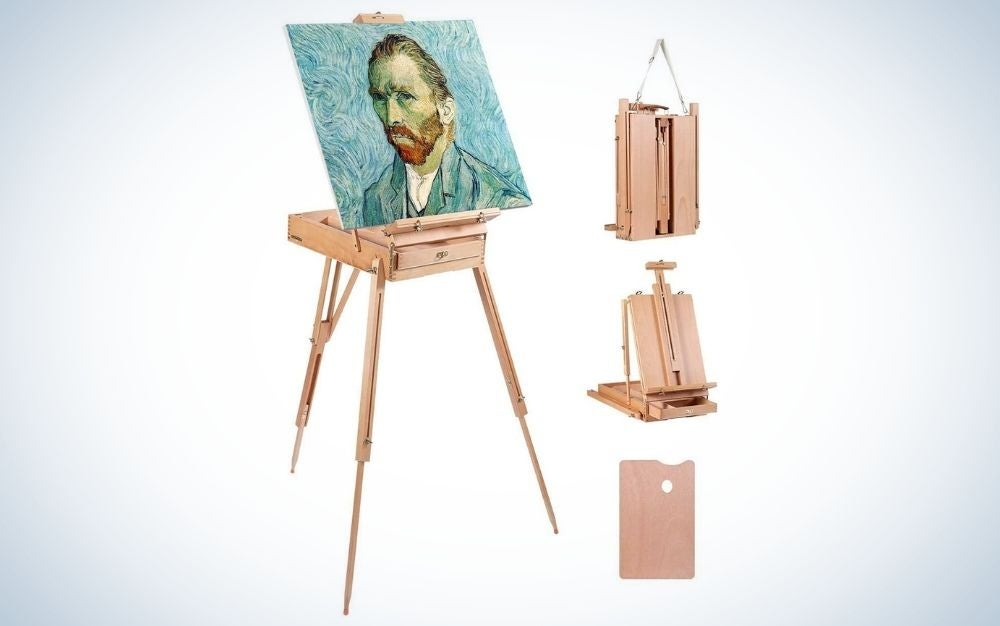 Louise Maelys Easel for Painting is the best designed.
