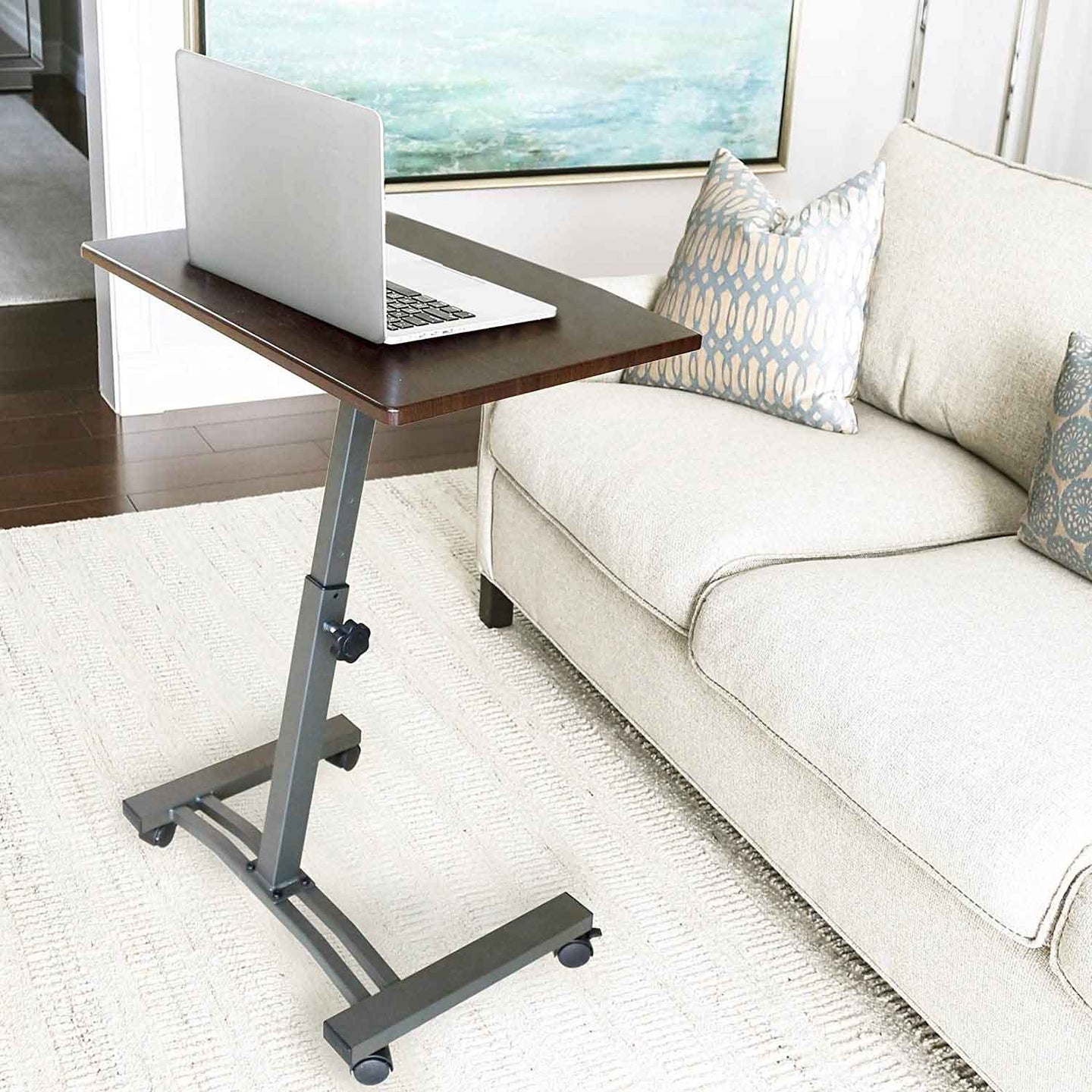 TV tray table in the living room