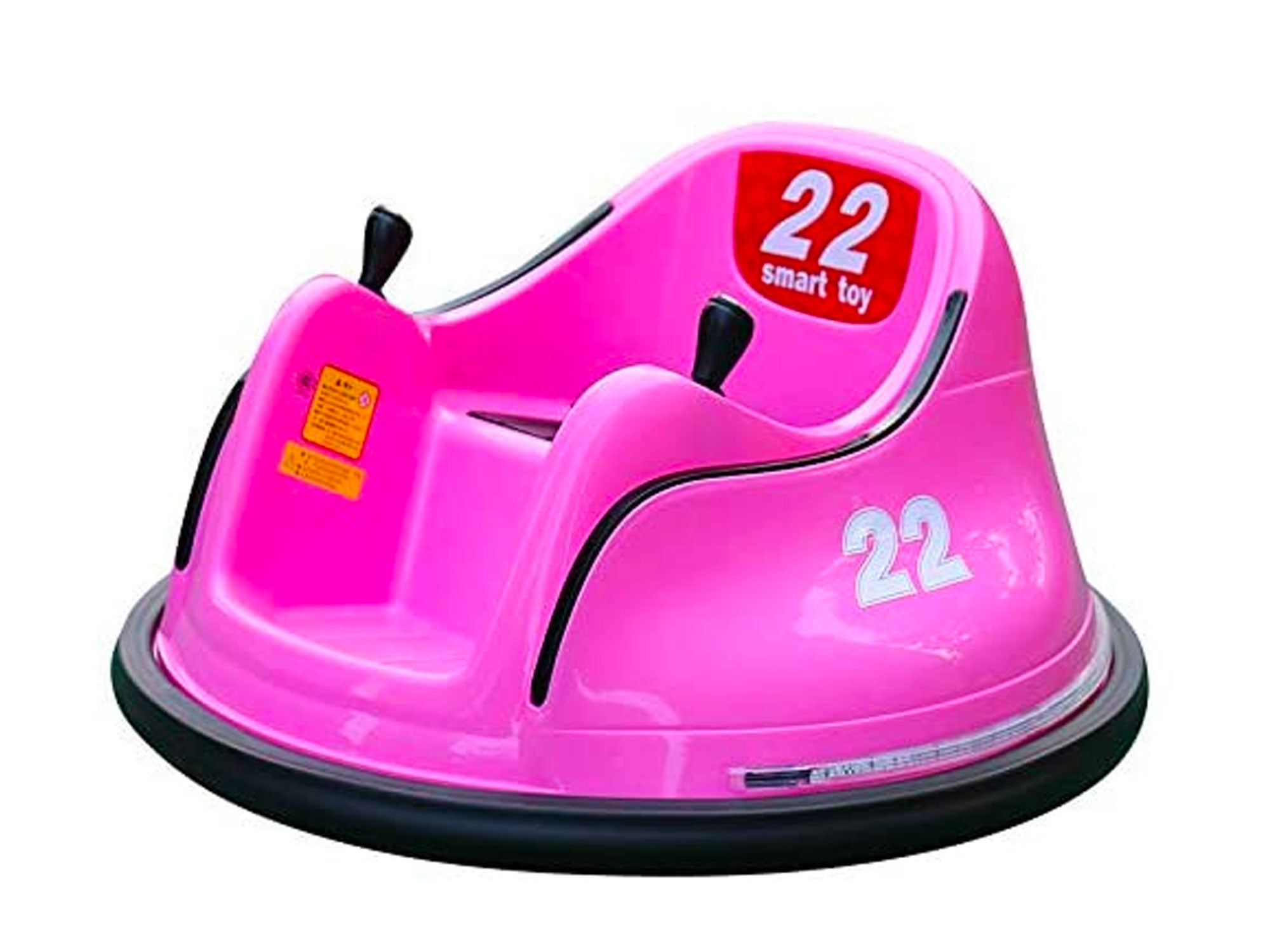 Tenflyer Bumper Car for Kids, DIY Race Car for Boy Toy - Ride On Bumper Car Kids Toy Cars - Electric Vehicle Remote Control 360 Spin for Toddler - Gift for Christmas Xmas (Pink)