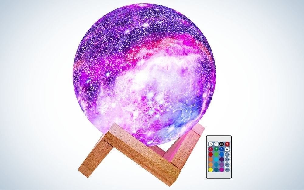 The Brightworld Moon Lamp is the best overall.