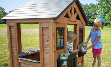 Backyard Playhouses to Make Your Children's Dreams Come True