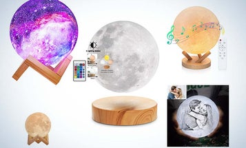 Magical Moon Lamps To Brighten Your Home