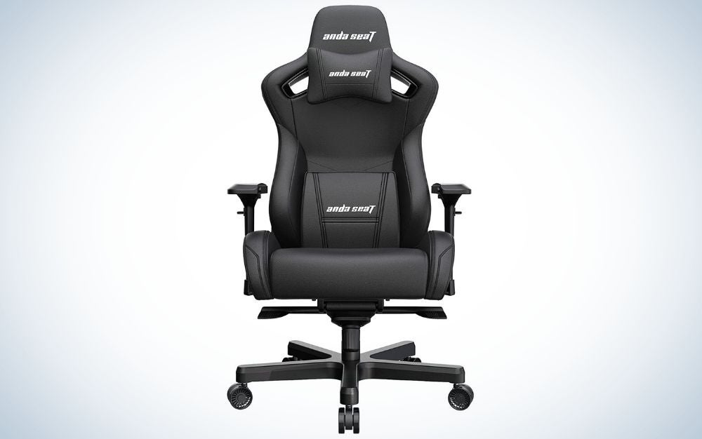 The AndaSeat Kaiser 2 is the best gaming chair for larger frames.