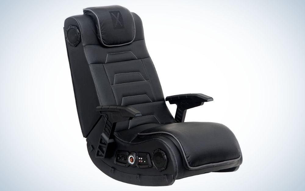 The X Rocker Pro Series H3 is the best gaming chair for audiophiles.