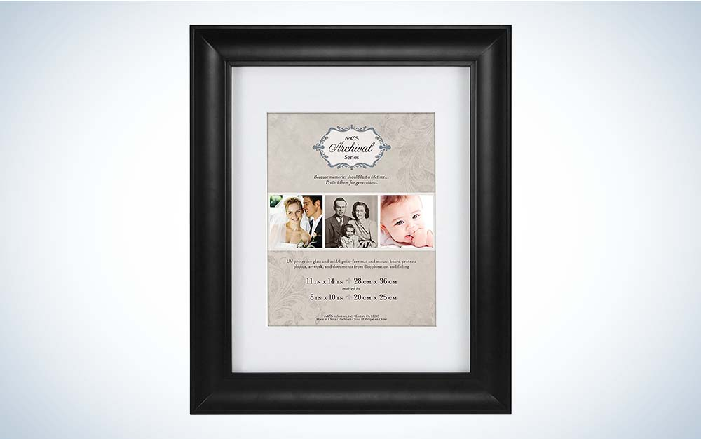 he MCS Archival Matted Frame is one of the best picture frames overall.