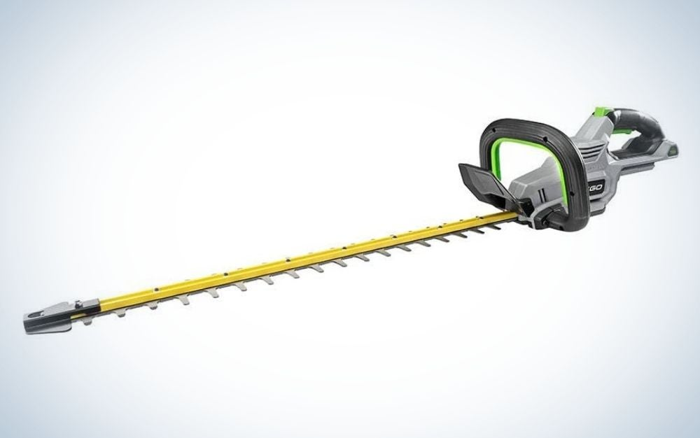 The EGO Power+ HT2410 24-inch is the best overall hedge trimmer we reviewed.