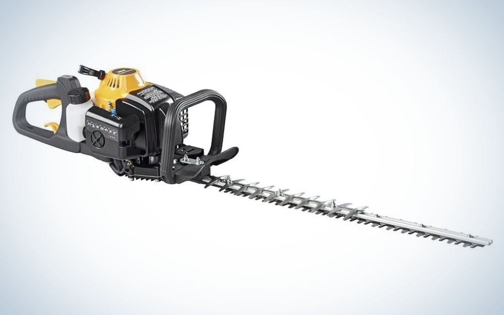 The Poulan Pro PR2322 22-inch 23cc 2 Cycle trimmer boasts impressive cutting power.