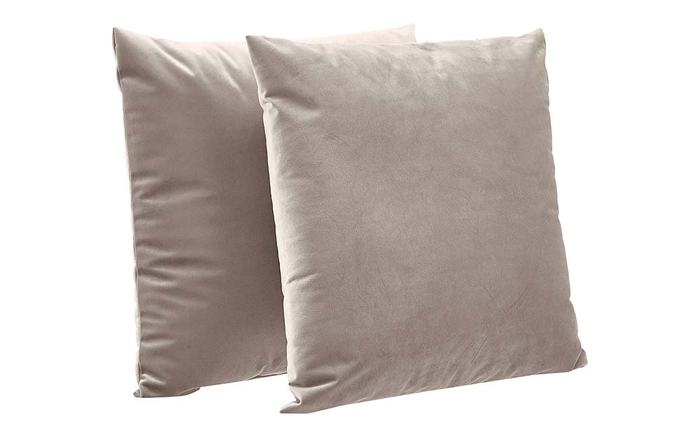 These Amazon Basics throw pillows are the best insert-and-cover combo.
