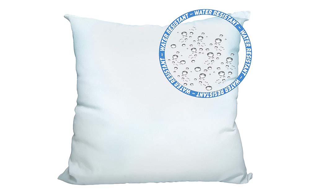 These Foamily pillows are the best throw pillows for outdoors.