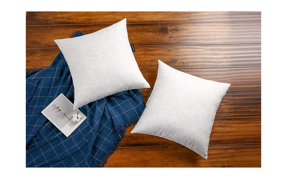 JA ComfortsDown Feather Throw Pillow Inserts are our best overall pick.