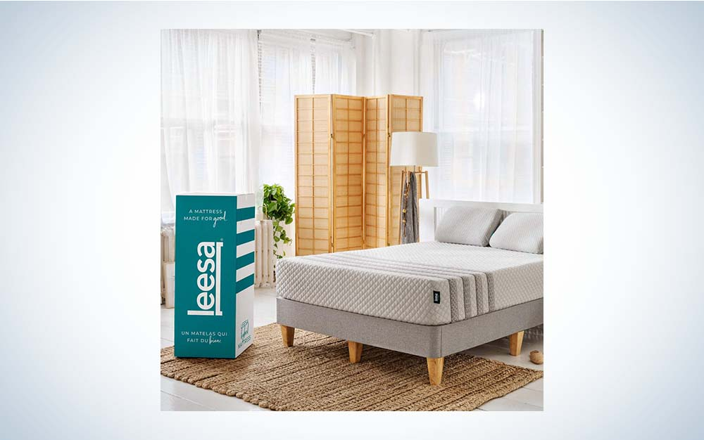 The Leesa Hybrid 11-inch Mattress is the best for back sleepers.
