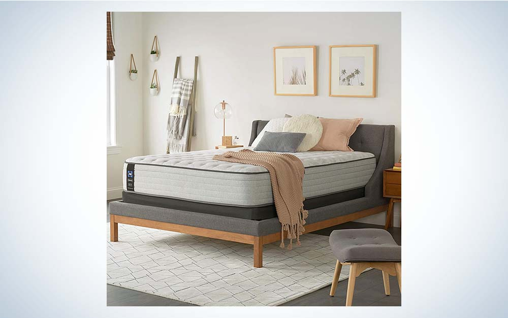 The Sealy Posturepedic Soft Feel Mattress is the best for side sleepers.