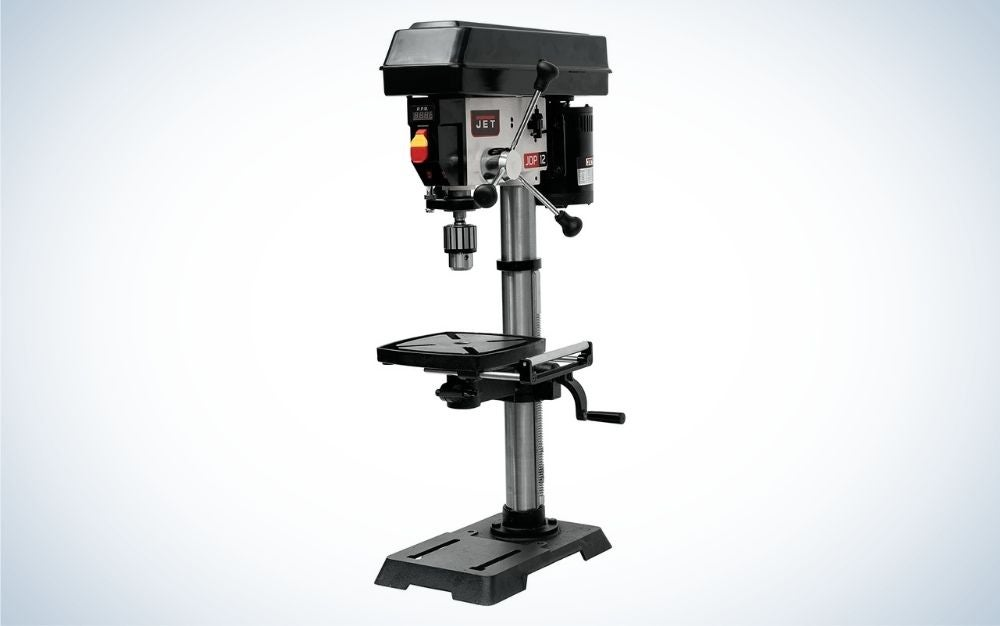 The Jet JWDP-12 12-Inch Benchtop Drill Press is the best overall.