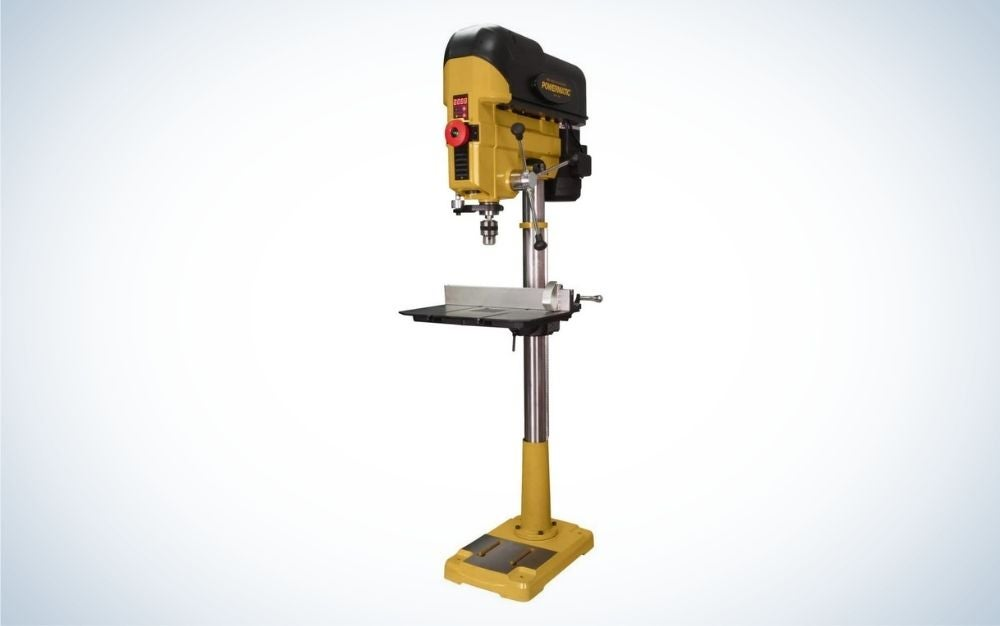 The Powermatch PM2800B 18-Inch Drill Press is the best drill press for pros.