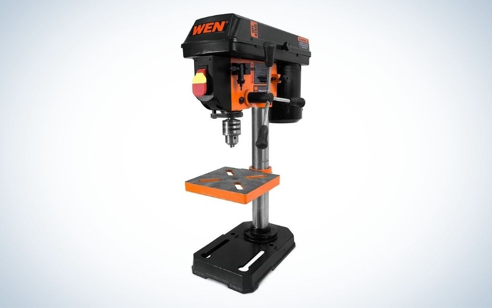 The WEN 4208T 2.3-Amp 8-Inch Benchtop Drill Press is the best value.