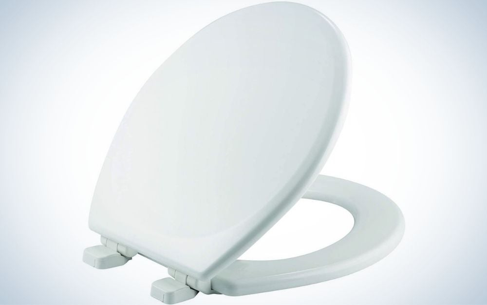 The Mayfair 843SLOW Lannon Toilet Seat is the best toilet seat for value.