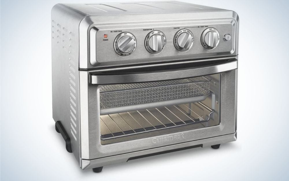 The Cuisinart Air Fryer Convection Toaster Oven is the best overall.