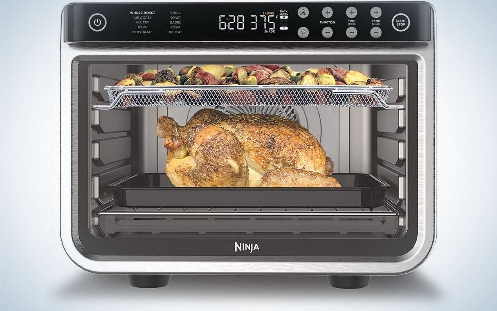 The Ninja 10-in-1 XL Pro is one of the best large convection ovens for its large capacity.