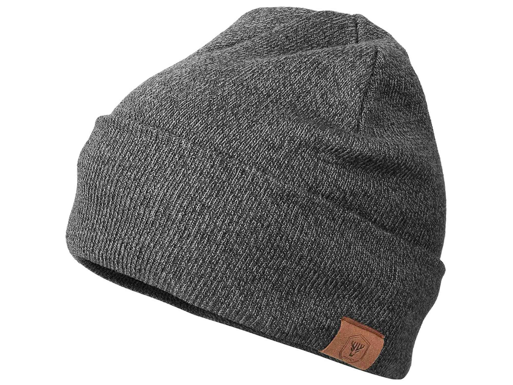 OZERO Daily Skully Beanie Hat, Warm and Soft Knitting Stretch Cap to Fit Most Black/Gray/Purple/Navy Blue/Maize Yellow