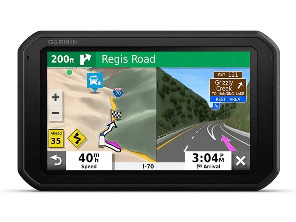 Garmin RV 785 & Traffic, Advanced GPS Navigator for RVs with Built-in Dash Cam, High-res 7