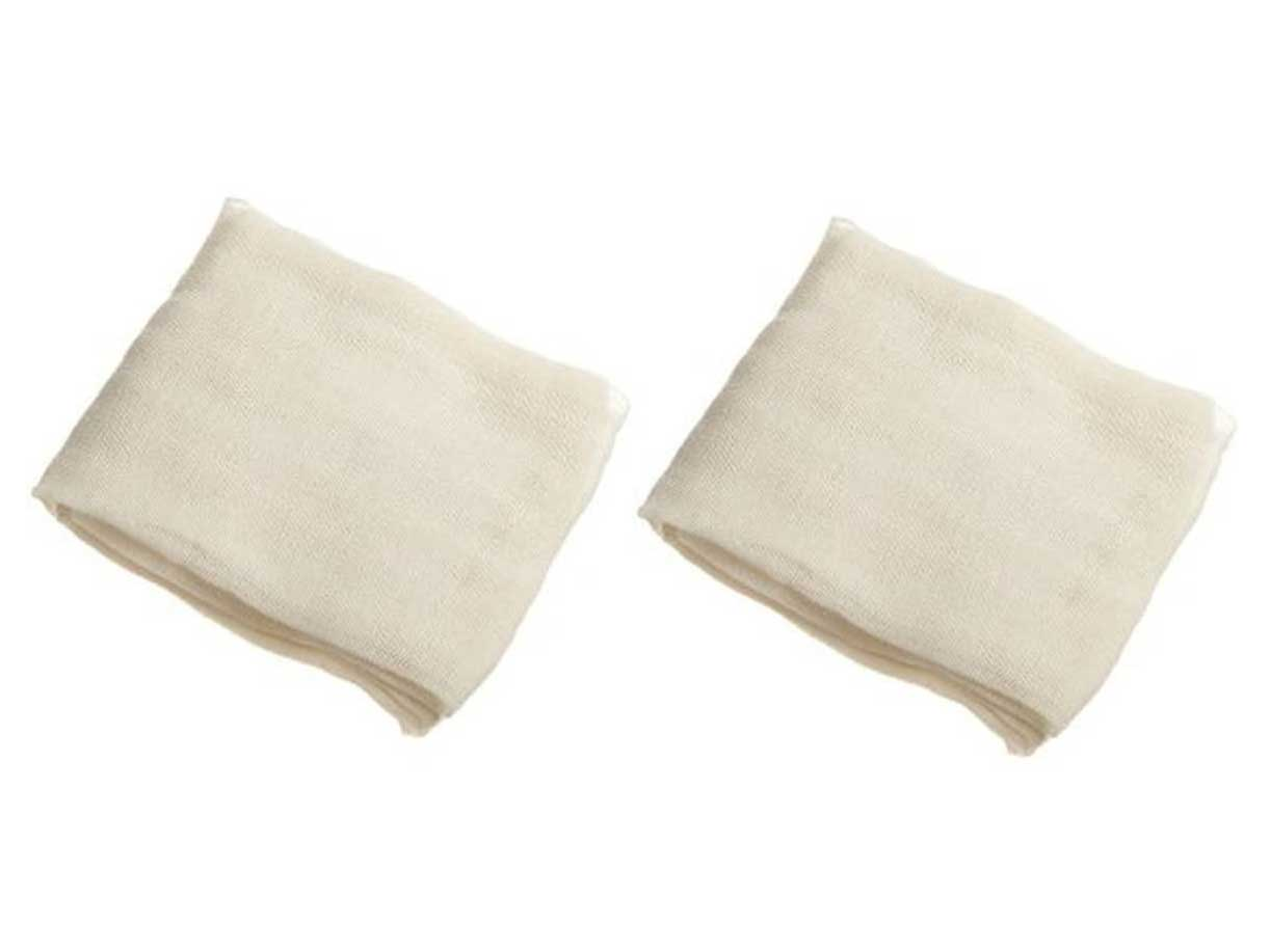 Regency Wraps Natural Ultra Fine Cheesecloth 100% Cotton, For Basting Turkey and Poultry, Straining Soups and Sauces & Making Cheese, 2pack, 18 sq. ft
