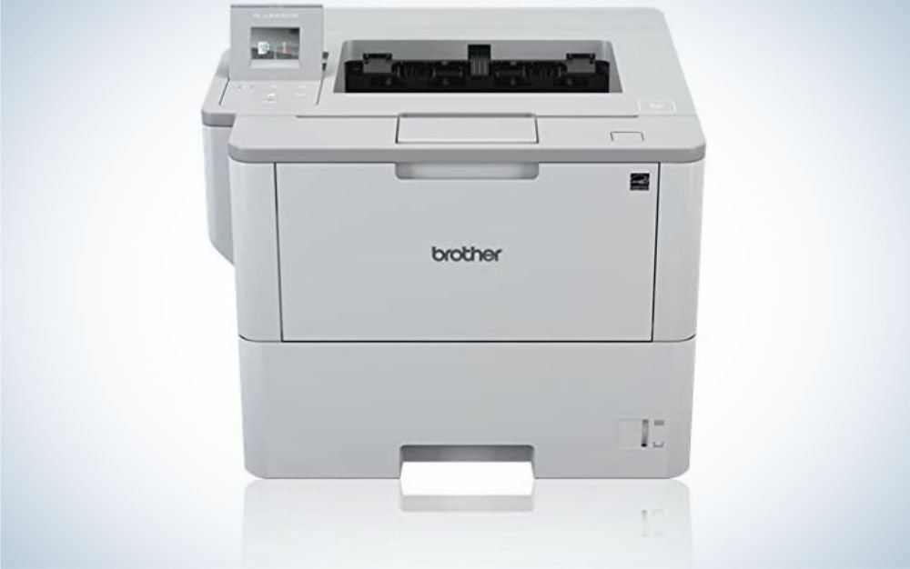 The Brother HL-L6400DW is the best laser printer.