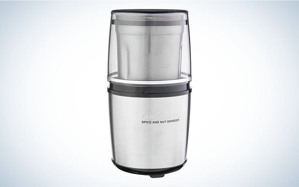 The Cuisinart Electric Spice-and-Nut Grinder is the best food grinder for spices.