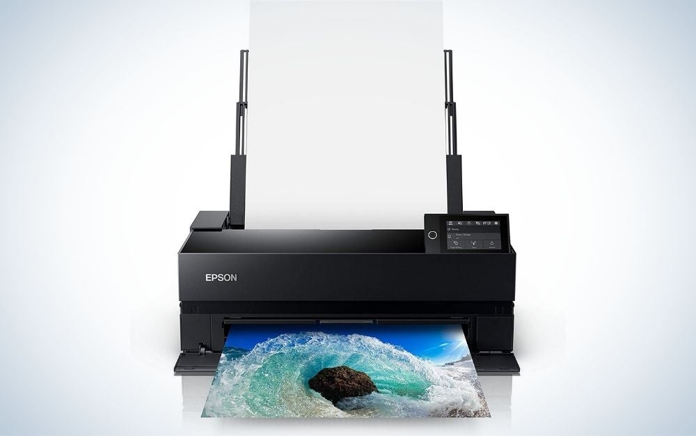 The Epson SureColor P900 Photo Printer is the best for photo printing.