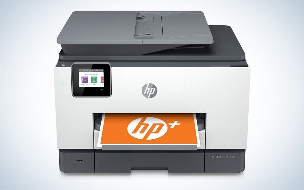 The HP OfficeJet Pro 9025e is the best overall.