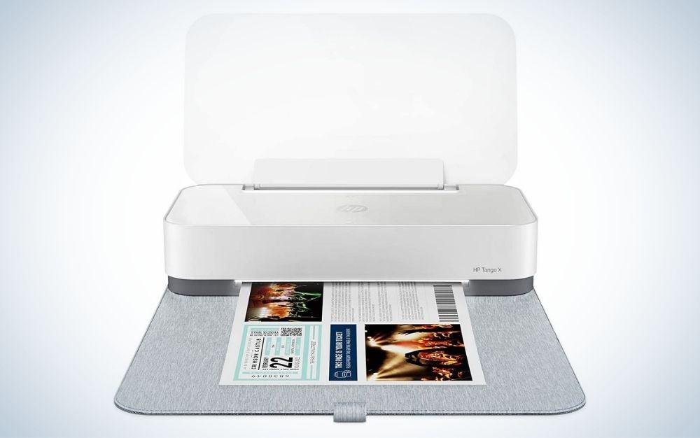 The HP Tango X is the best smart printer.