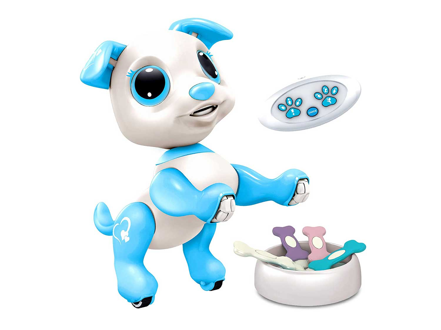 Power Your Fun Robo Pets Robot Dog - Remote Control Robot Toy, Smart RC Robot Puppy, Interactive Toys for Boys and Girls