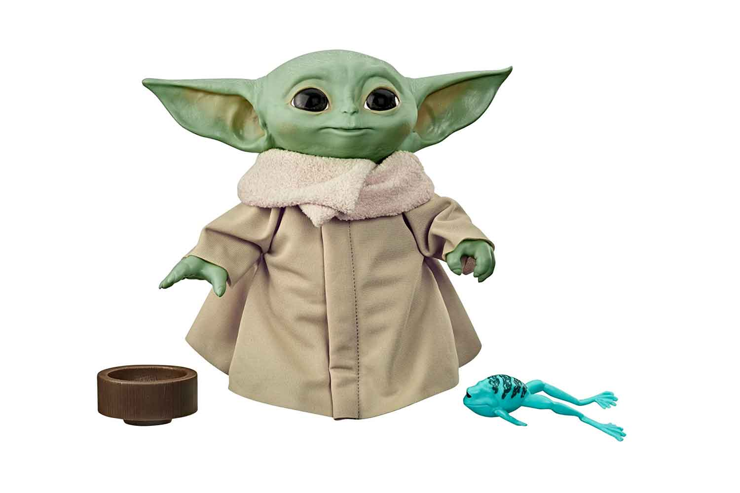 Star Wars The Child Talking Plush Toy with Character Sounds and Accessories, The Mandalorian Toy for Kids Ages 3 and Up