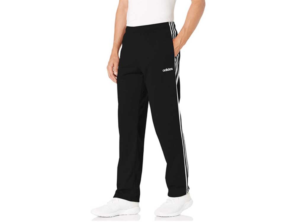 adidas Men's Essentials 3-Stripes Regular Tricot Pants