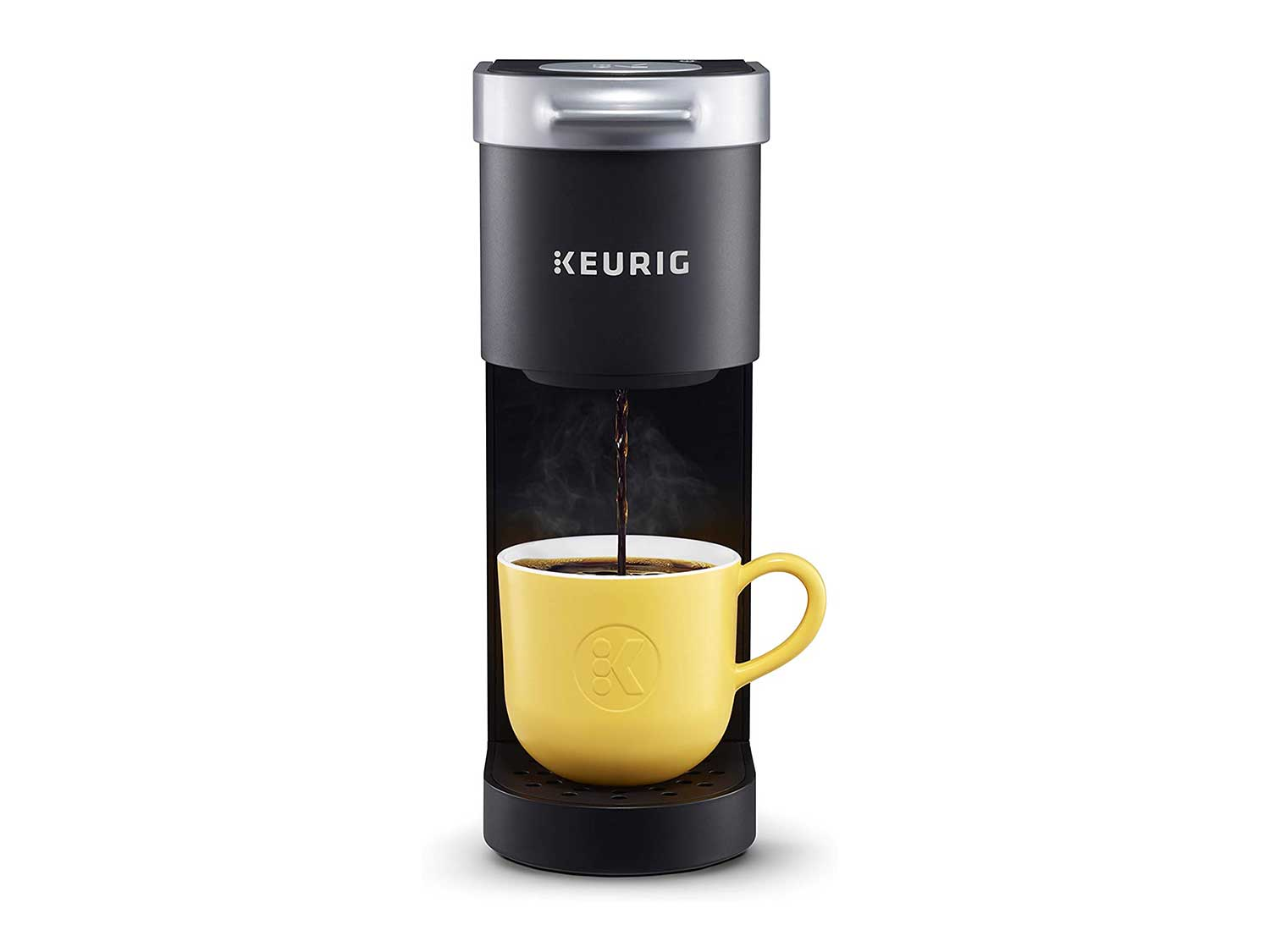 Keurig K-Mini Coffee Maker, Single Serve K-Cup Pod Coffee Brewer, 6 to 12 oz. Brew Sizes, Black