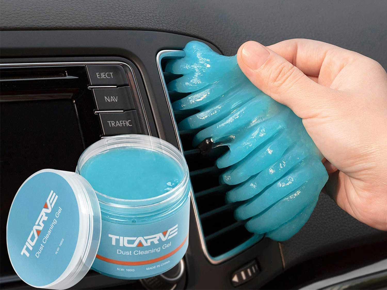 TICARVE Cleaning Gel for Car Detailing Putty Auto Cleaning Putty Auto Detailing Gel Detail Tools Car Interior Cleaner Universal Dust Cleaner Gel Vent Cleaner Keyboard Cleaner for Laptop New