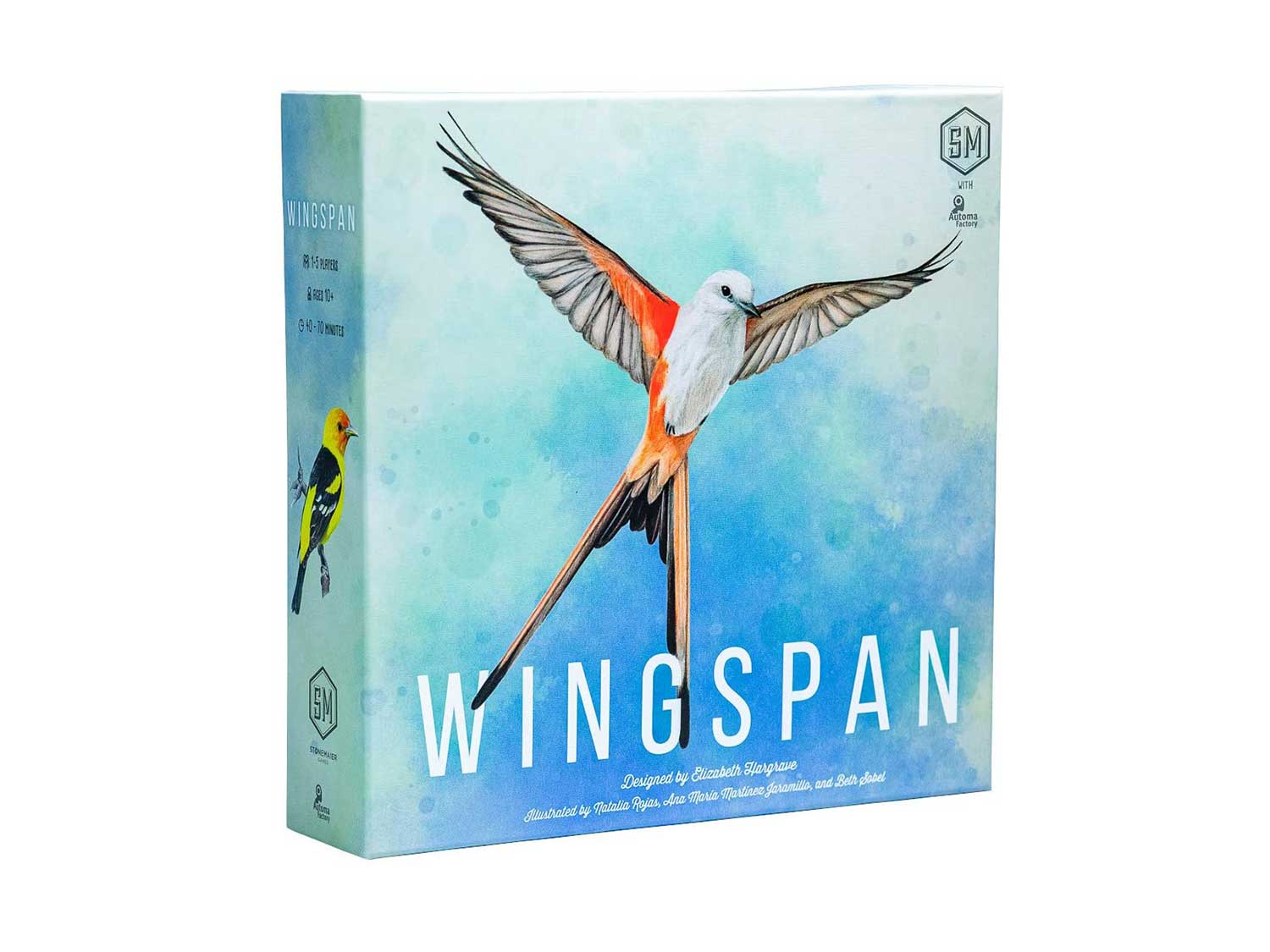 Wingspan Board Game - A Bird-Collection, Engine-Building Stonemaier Game for 1-5 Players, Ages 14+