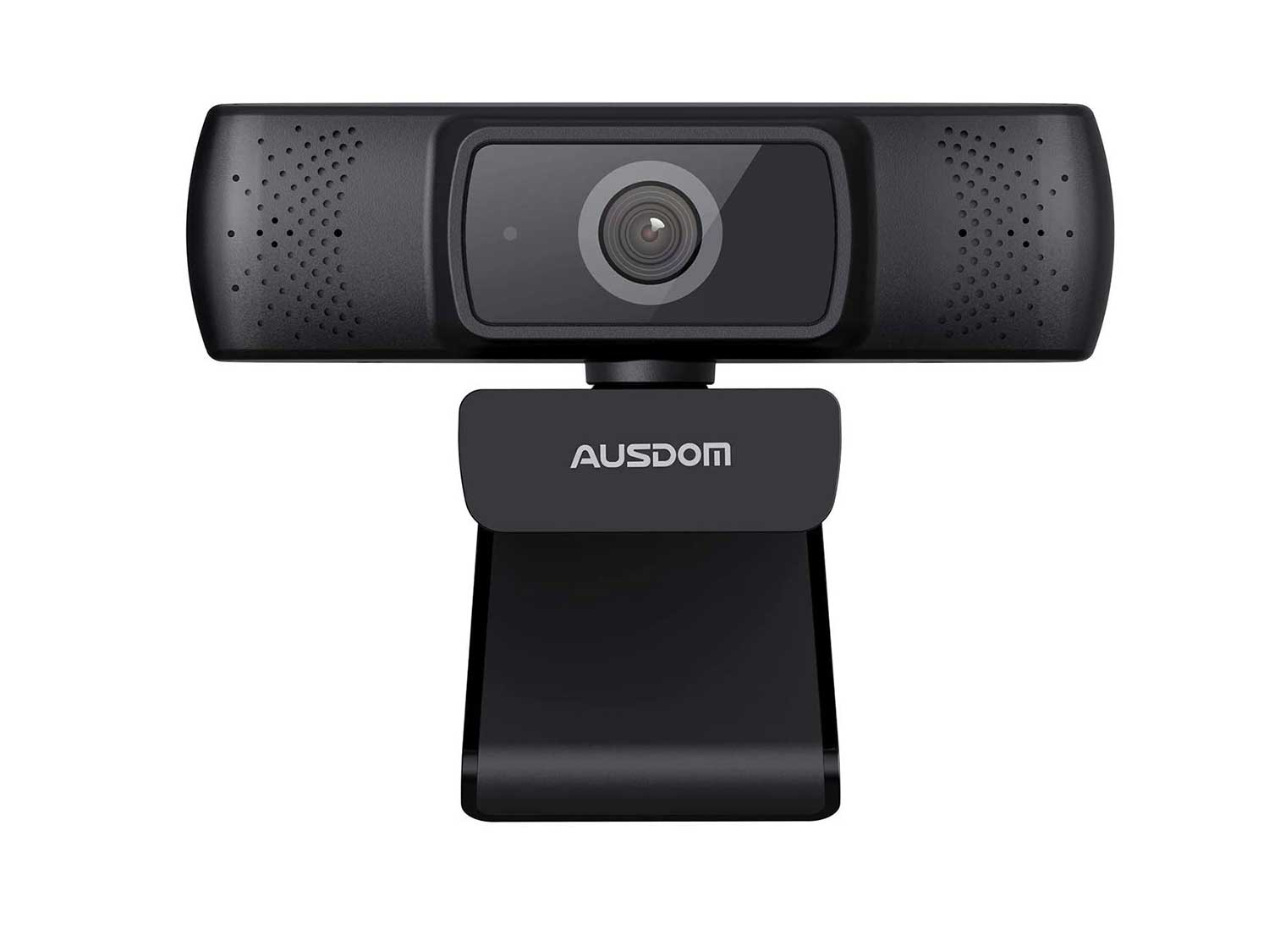 Autofocus 1080P Webcam for PC with Privacy Cover, AUSDOM AF640 Full HD Video Calling, Business Web Camera with Microphone, 90° Wide-Angle View for Desktop/Laptop/Mac, Work with Skype/Zoom/WebEx/Lync