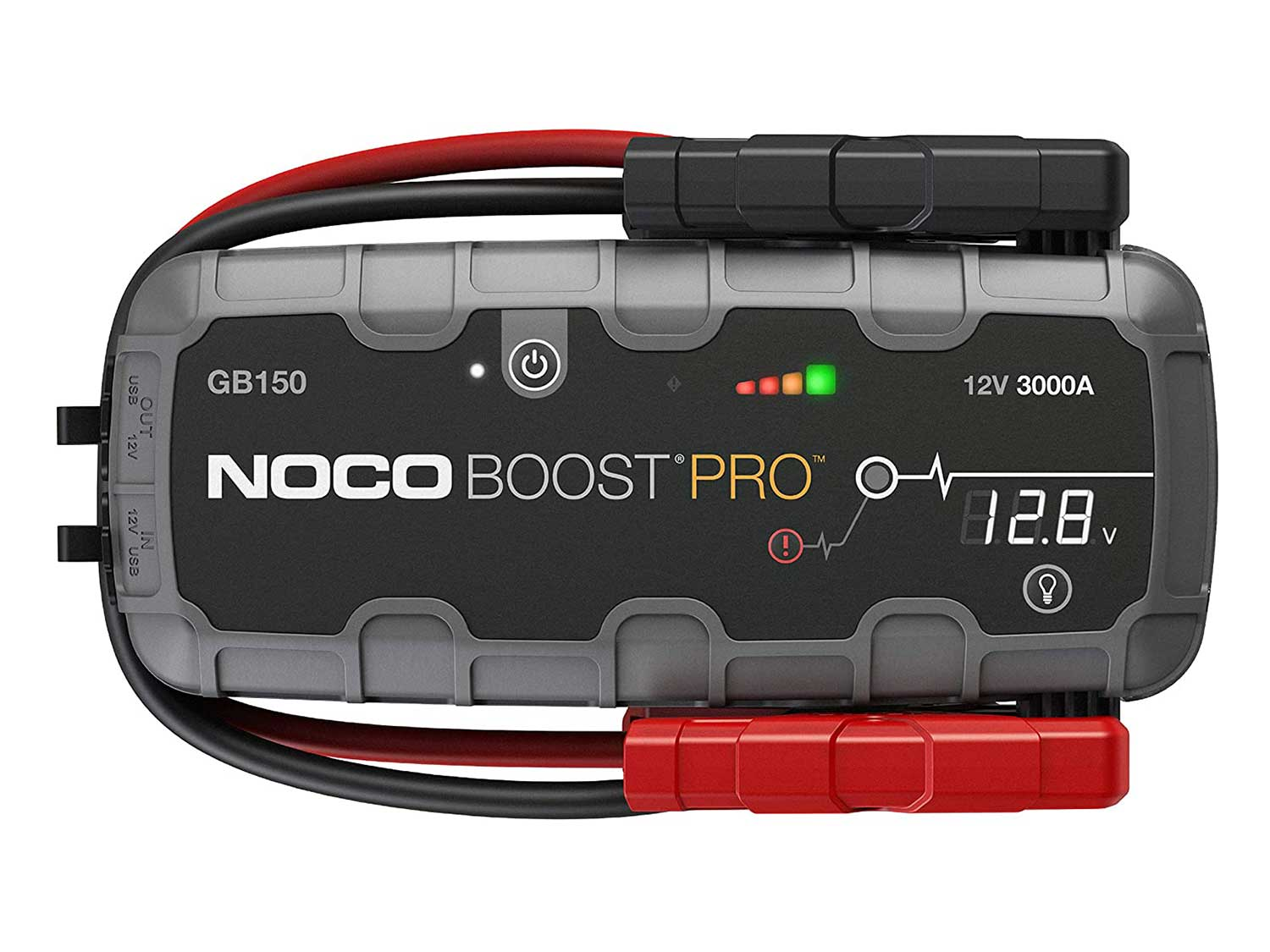 NOCO Boost Pro GB150 3000 Amp 12-Volt UltraSafe Portable Lithium Jump Starter, Car Battery Booster Pack, And Jump Leads For Up To 9-Liter Gasoline And 7-Liter Diesel Engines