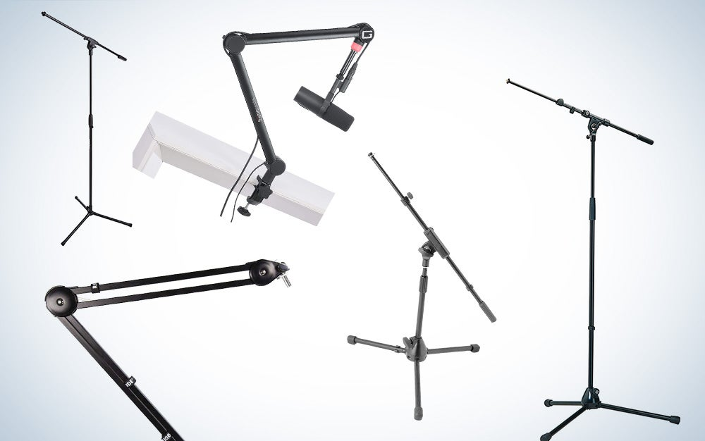 best microphone boom arm stands