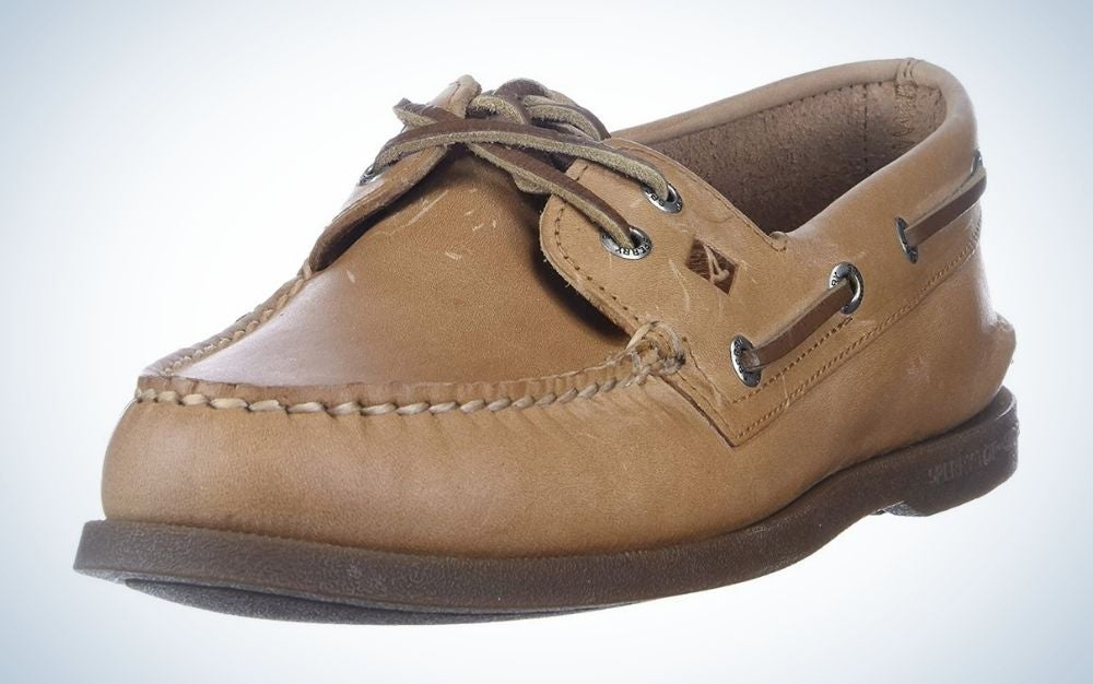 The Sperry Men's Authentic Original 2-Eye Boat Shoe is the best overall.