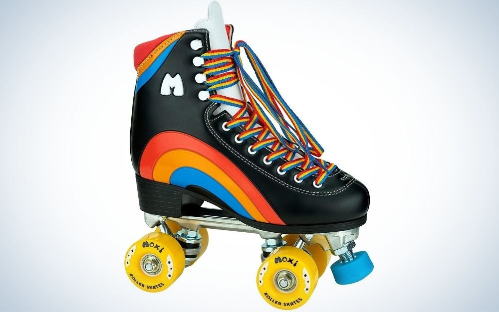 The Moxi Rainbow Riders is our pick for the best overall roller skates for beginners.