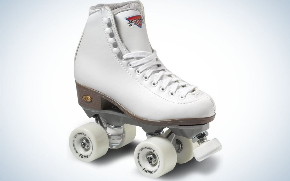 The Sure-Grip White Fame Skates are our pick for the best rhythm skates.
