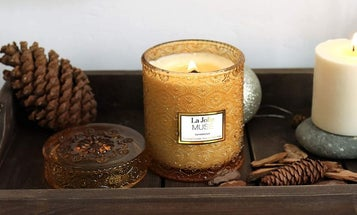 Wooden Wick Candles to Help Set the Mood