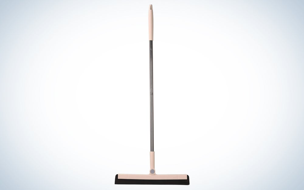 gold squeegee with long handle