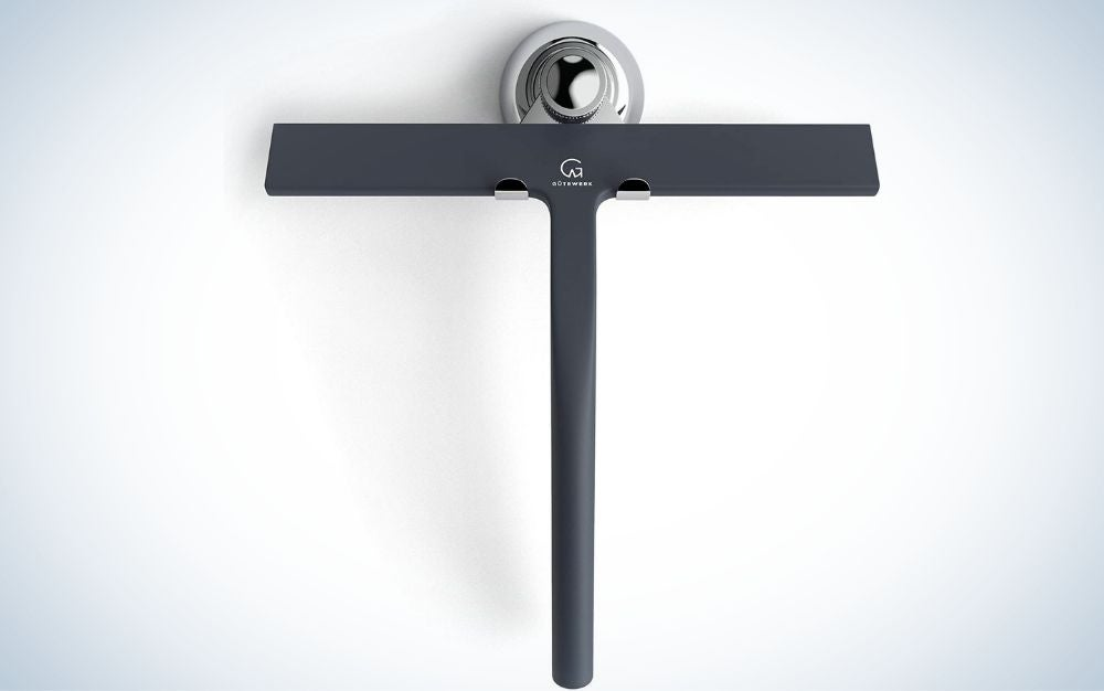 The Gütewerk Shower Squeegee is the best shower squeegee for a nonslip grip.