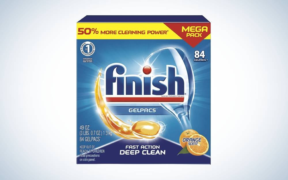 Finish All in 1 Gelpacs are the best budget pods.
