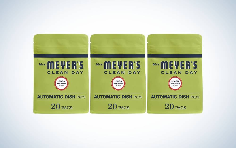 Mrs. Meyer's Clean Day Automatic Dishwasher Pods are the best scented.
