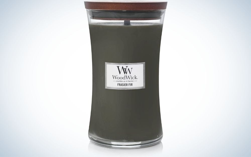 The WoodWick Candle Fraser Fir is the best overall among wooden wick candles.