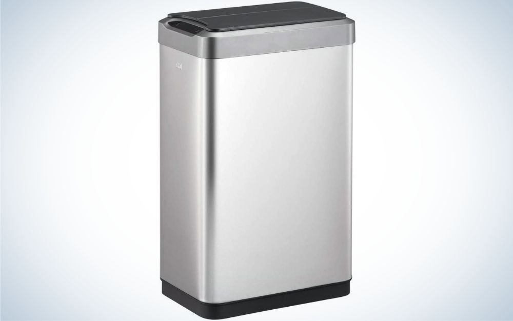 The Eko Phantom Motion Sensor Trash is the easiest to clean among the best touchless trash cans.
